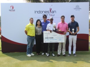 Professional and amateur winner PGA Tour of Indonesia